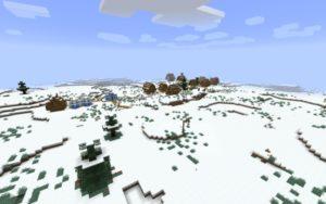 Карта Зимний дом для майнкрафт 1.15.1, 1.14.4