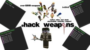 Мод dotHack Weapons 1.15.2, 1.14.4, 1.12.2