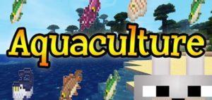 Мод Aquaculture для майнкрафт 1.16.1, 1.15.2, 1.14.4, 1.12.2