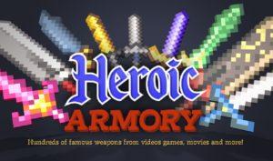 Мод Heroic Armory для майнкрафт 1.12.2