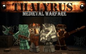 Ресурспак средневековья Thalyrus Medieval Warfare [16x] 1.15.1, 1.14.4