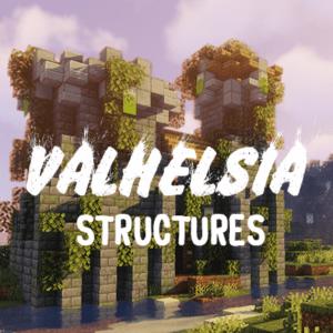 Мод Valhelsia Structures для майнкрафт 1.14.4