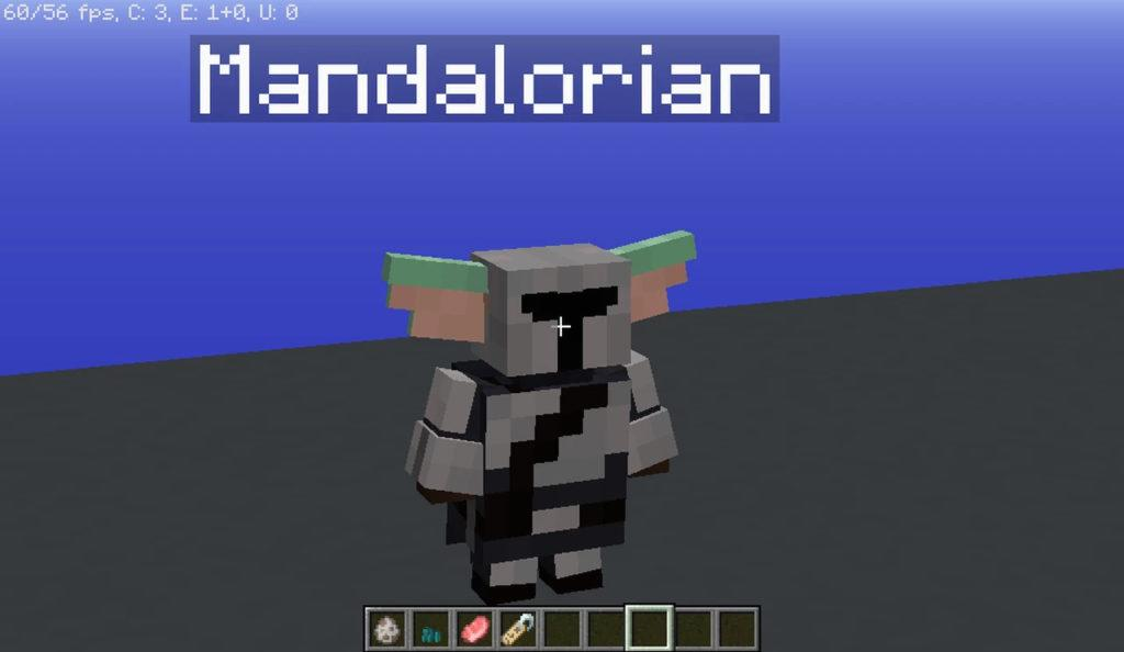 Ресурспак Star Wars Mandalorian The Child [16x] 1.14.4