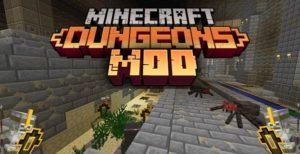 Мод Minecraft dungeons для майнкрафт 1.12.2