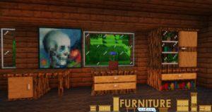 Мод Macaw's Furniture 1.15.2, 1.14.4, 1.12.2