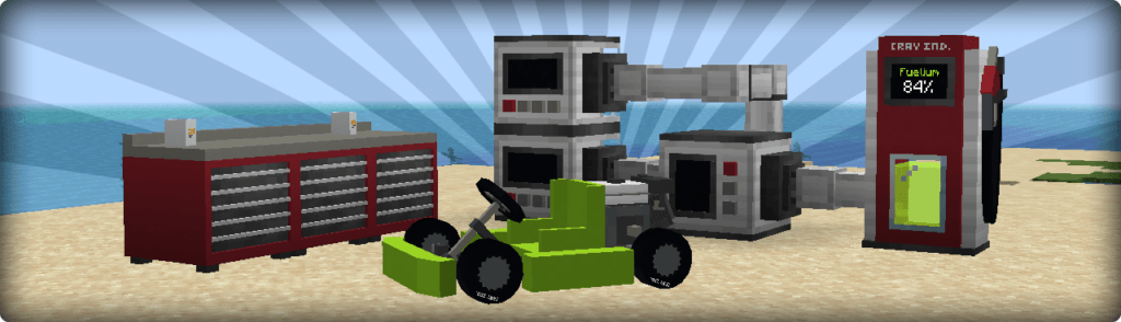 Мод MrCrayfish's Vehicle 1.15.2, 1.12.2