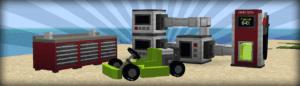 Мод MrCrayfish's Vehicle для майнкрафт 1.16.3, 1.15.2, 1.14.4 1.12.2