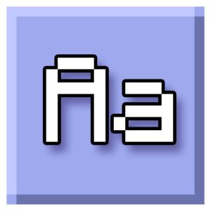 Ресурспак Minecraft Font 1.12.2, 1.11.2