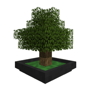 Мод Bonsai Trees для майнкрафт 1.15.2, 1.14.4, 1.12.2