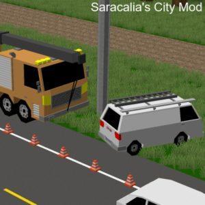 Мод Saracalia's City для майнкрафт 1.12.2, 1.7.10