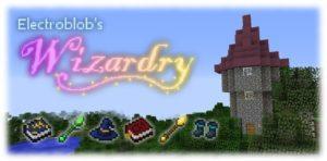 Мод Electroblob's Wizardry - магия и заклинания 1.12.2, 1.7.10