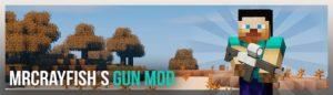 Мод MrCrayfish's Gun для майнкрафт 1.12.2