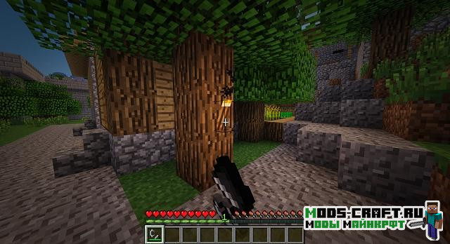 Мод Realistic Torches 1.16.4, 1.15.2, 1.14.4, 1.12.2, 1.7.10