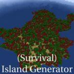 Мод (Survival) Island Generator (генерация островов) 1.15.2