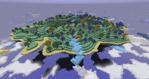 Мод на Рай - Aether 2 для minecraft 1.12.2, 1.7.10, 1.5.2