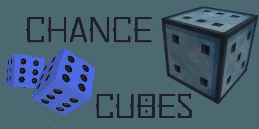 Мод Chance Cubes для майнкрафт 1.15.2, 1.14.4, 1.12.2, 1.7.10