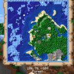 Мод Just Map для майнкрафт 1.16, 1.15.2