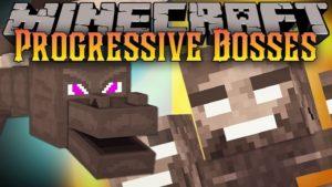 Мод Progressive Bosses 1.16.4, 1.15.2, 1.14.4, 1.12.2