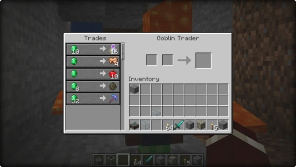 Мод на торговцев - Goblin Traders 1.15.2
