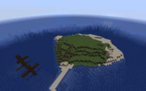 Небольшой остров и корабль [1.15.2]
