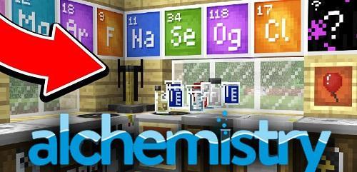 Мод Alchemistry 1.16.4, 1.15.2, 1.14.4, 1.12.2