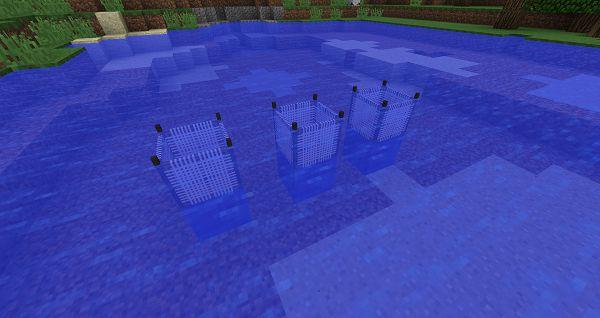 Мод Water Strainer 1.17.1, 1.16.5, 1.15.2,1.12.2 (фильтрация воды)