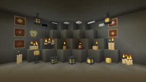Мод Extended Lights (новые источники света) 1.15.2, 1.14.4