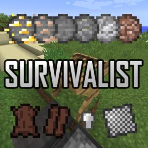Мод Survivalist (изменённое выживание) 1.16.1, 1.15.2, 1.14.4, 1.12.2