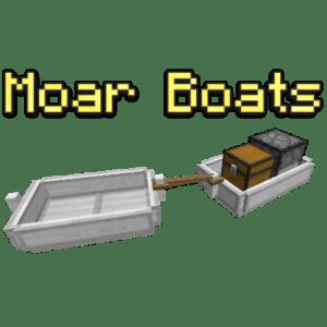 Мод Moar Boats 1.15.2, 1.14.4, 1.12.2