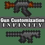 Мод Gun Customization Infinity для minecraft 1.15.2, 1.14.4, 1.12.2