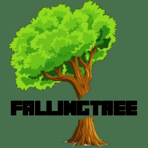 Мод Falling Tree для майнкрафт 1.16.1, 1.15.2, 1.14.4, 1.12.2