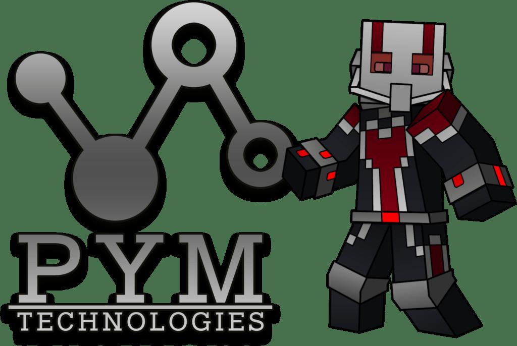 Мод на человека муравья - PymTech для майнкрафт 1.16.3, 1.15.2, 1.14.4, 1.12.2