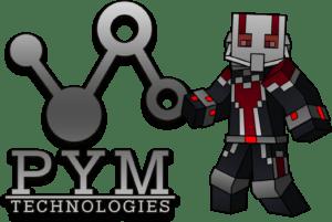 Мод на человека муравья - PymTech 1.16.4, 1.15.2, 1.14.4, 1.12.2