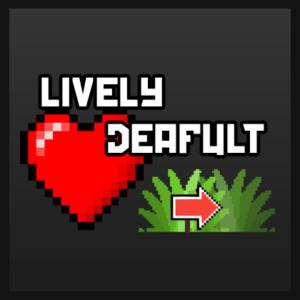 Ресурспак Lively Default by DioMePie для майнкрафт 1.15.2, 1.14.4