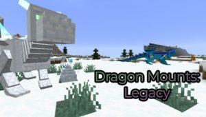 Мод Dragon Mounts: Legacy для майнкрафт 1.16.3, 1.15.2