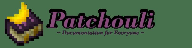 Мод Patchouli для майнкрафт 1.16.5, 1.15.2, 1.14.4, 1.12.2