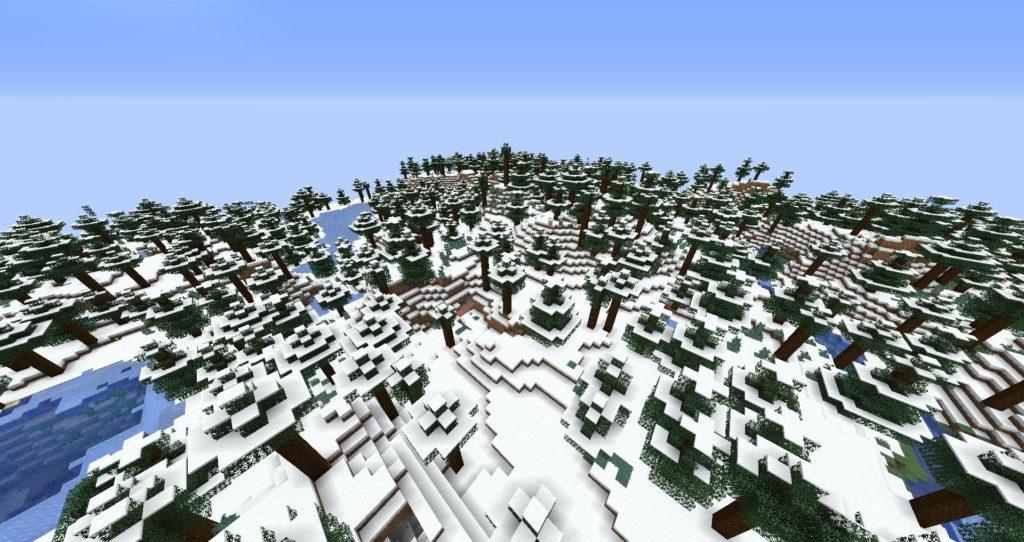 Мод Snow Under Trees для майнкрафт 1.16.4, 1.15.2, 1.14.4