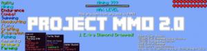 Мод Project MMO для майнкрафт 1.16.5, 1.15.2, 1.12.2