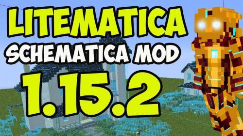 Мод Litematica для майнкрафт 1.15.2, 1.14.4