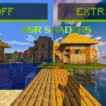 Шейдеры DSR Shaders Extreme by Sardio 1.15.2, 1.14.4, 1.12.2