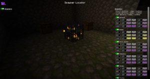 Мод Spawner Locator для майнкрафт 1.15.2, 1.14.4, 1.12.2