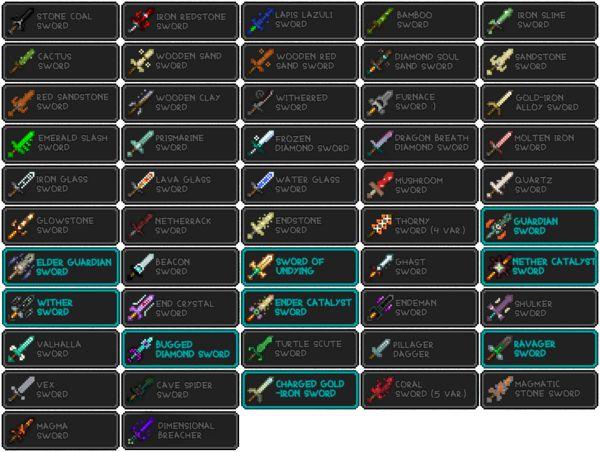 Мод Useless Sword 1.16.5, 1.15.2, 1.14.4, 1.12.2