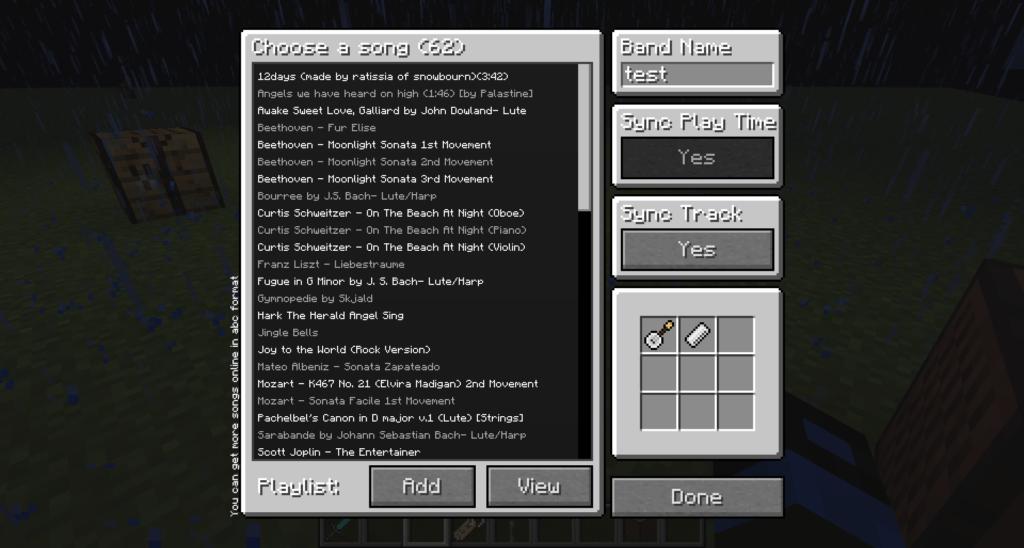 Мод Clef для майнкрафт 1.16.5, 1.15.2, 1.12.2