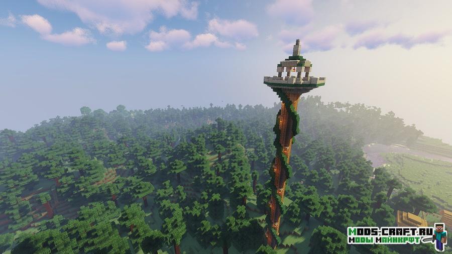 Мод Towers Of The Wild для майнкрафт 1.16.1, 1.15.2, 1.14.4
