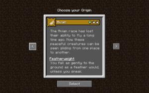 Мод Origins для майнкрафт 1.16.1