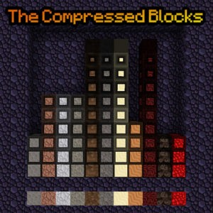 Мод The Compressed Blocks 1.16.5, 1.15.2, 1.12.2