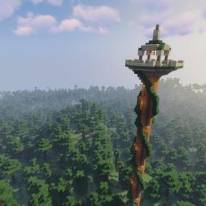 Мод Towers Of The Wild для майнкрафт 1.15.2
