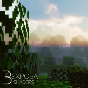 Шейдеры Exposa Unique 1.16.5, 1.15.2, 1.14.4, 1.12.2