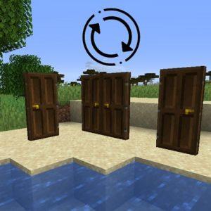 Мод Automatic doors для minecraft 1.16.5, 1.15.2, 1.14.4, 1.12.2