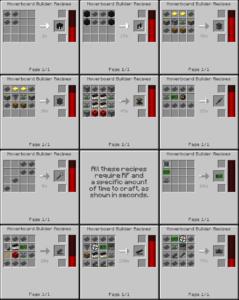 Мод Arkif's Hoverboard для майнкрафт 1.12.2, 1.7.10